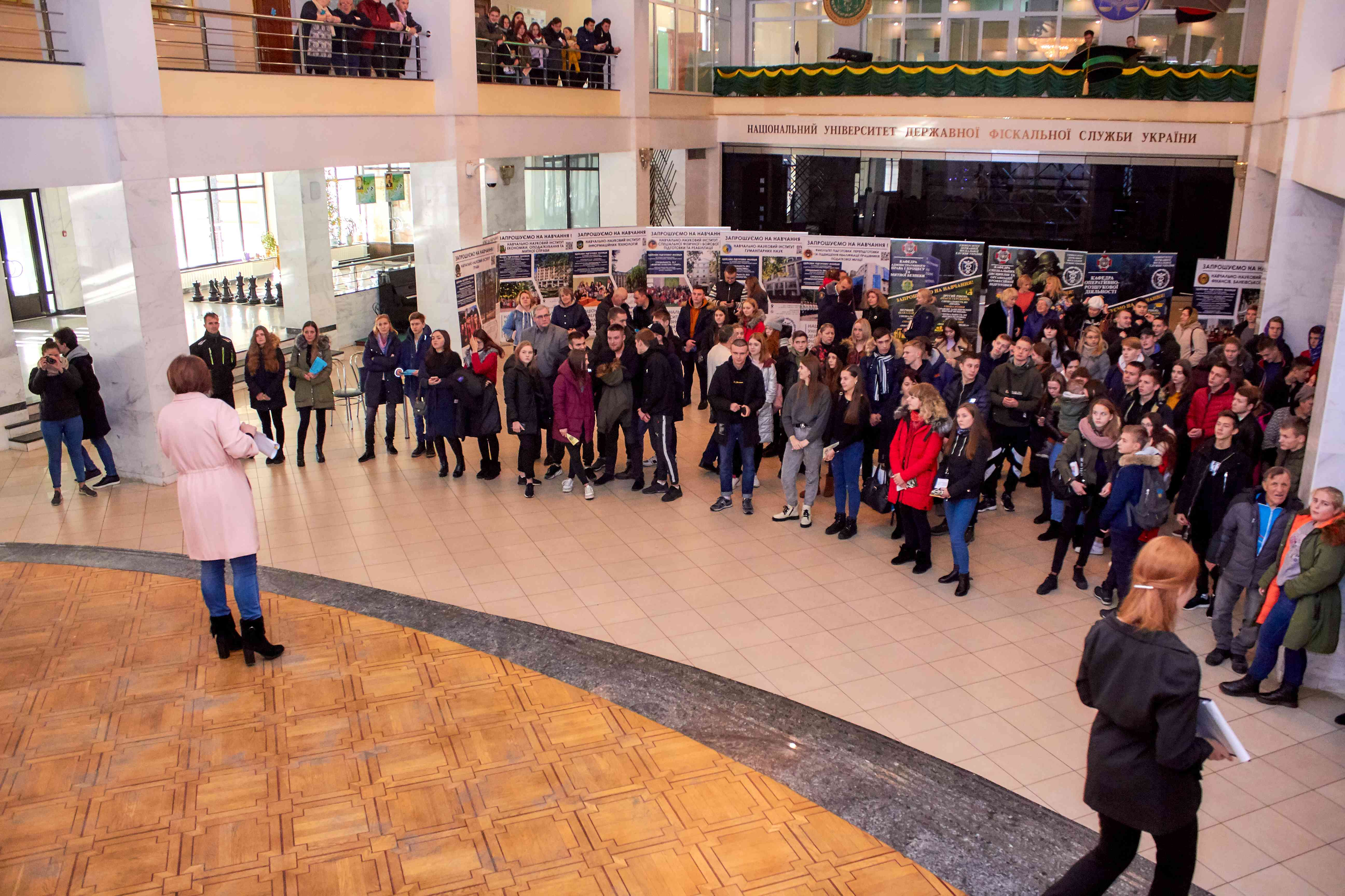В Університеті провели День відкритих дверей