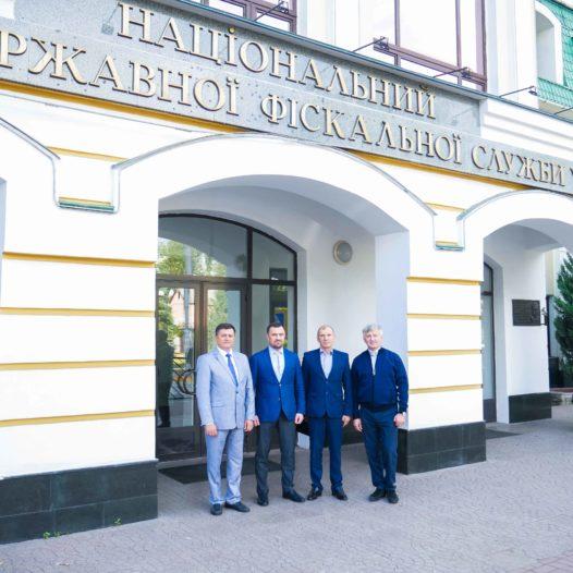 До Університету завітав Голова Рахункової палати України Валерій Пацкан