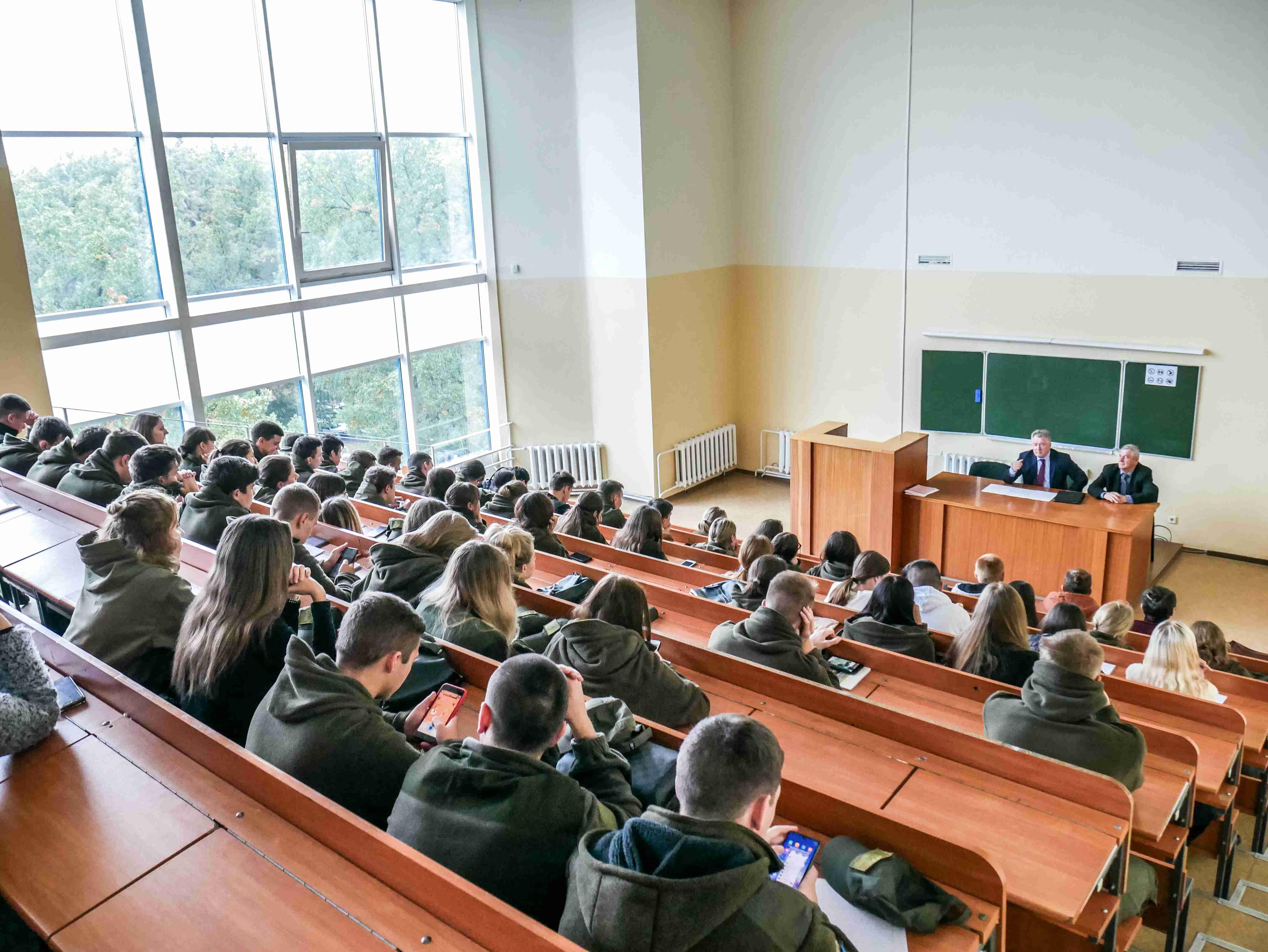 З лекцією виступив суддя Верховного Суду, Заслужений юрист України Бенедисюк Ігор Михайлович.