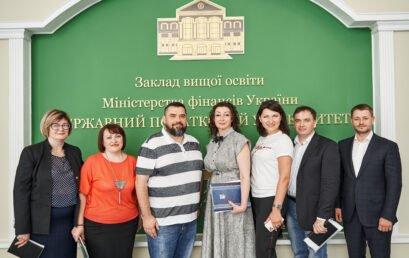 Відбулася зустріч керівництва Університету ДФС України з представниками аудиторської компанії Crowe Ukraine