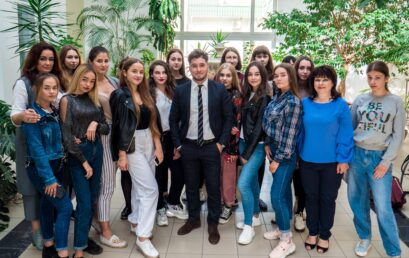 До УДФСУ завітав журналіст  телеканалу «1+1» Ігор Колтунов