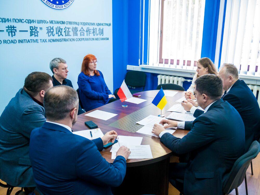 У рамках співпраці до УДФСУ завітала делегація з Польщі