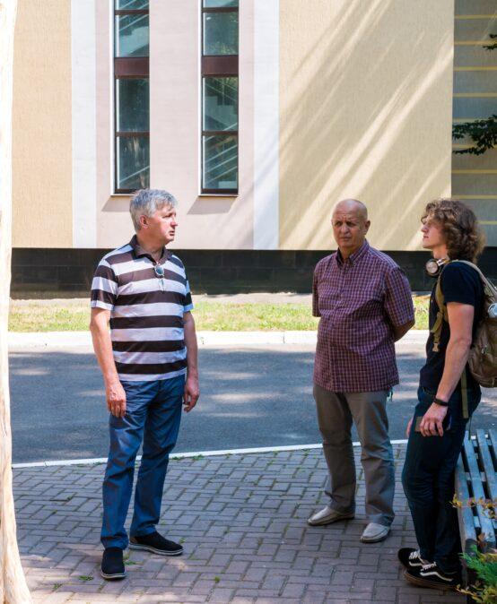До УДФСУ завітав переможець Korsak carving festival Олег Свистак