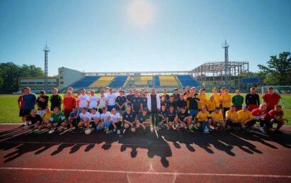 Загальноуніверситетський турнір з футболу, присвячений Дню фізичної культури і спорту