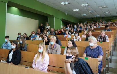 Відбулася зустріч першокурсників Навчально-наукового інституту економіки, оподаткування та митної справи Університету ДФС України з керівництвом інституту