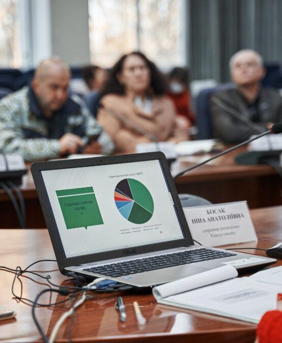 Відбулося засідання ректорату Податкового університету