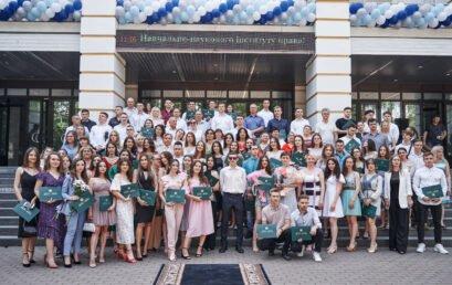 В Університеті державної фіскальної служби України відбувся випуск бакалаврів Навчально-наукового інституту права