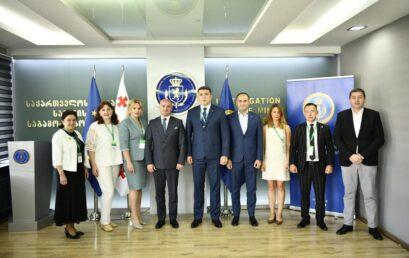 Розпочався робочий візит делегації Університету ДФС України до Слідчої служби Міністерства фінансів Грузії