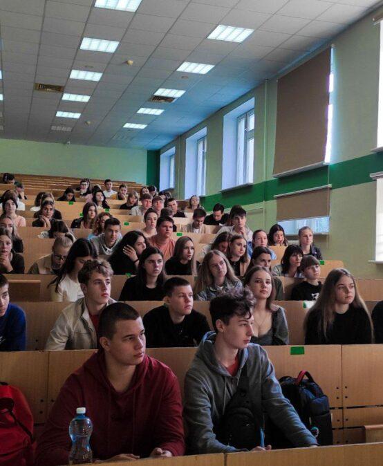 Відбувся Лекторій на тему «Наукова робота та її значення у житті студента»