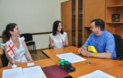 Університет ДФС України з робочим візитом відвідала гостя з Грузії – засновниця Інноваційного хабу Міжнародного Чорноморського університету Кеті Кікілашвілі