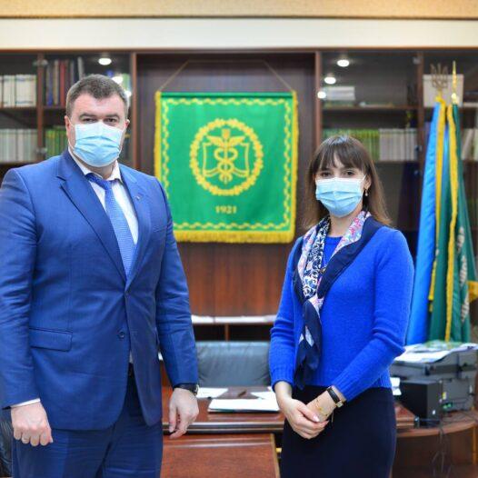 До УДФСУ завітала заступниця Міністра з питань реінтеграції тимчасово окупованих територій України Інна Драганчук
