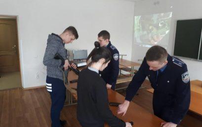 Абітурієнти відвідали Факультет податкової міліції