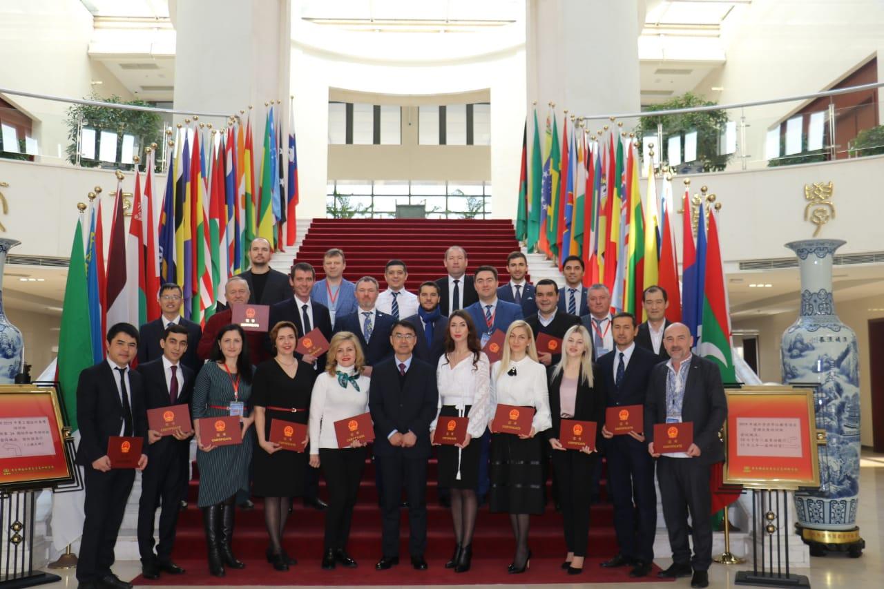 Працівники УДФСУ представили навчальний заклад та Україну у Китаї