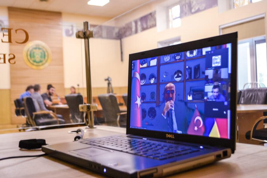 В Університеті державної фіскальної служби України відбулась онлайн-зустріч представництва університету з Президентом Турецької національної поліцейської академії