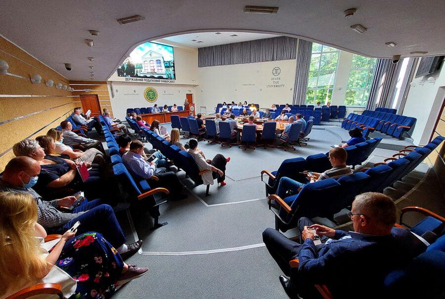 Відбулося засідання ректорату Університету ДФС України
