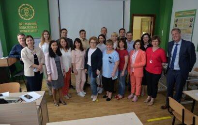 В Університеті ДФС України пройшов тренінг для керівників та працівників підрозділів внутрішнього аудиту державних органів