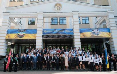 Відбулися урочистості з нагоди 24-ї річниці створення Факультету податкової міліції та прощання з бойовим прапором