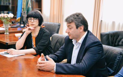 Відбулася робоча зустріч керівництва Університету ДФС України з Азером Худаяром оглу Худієвим