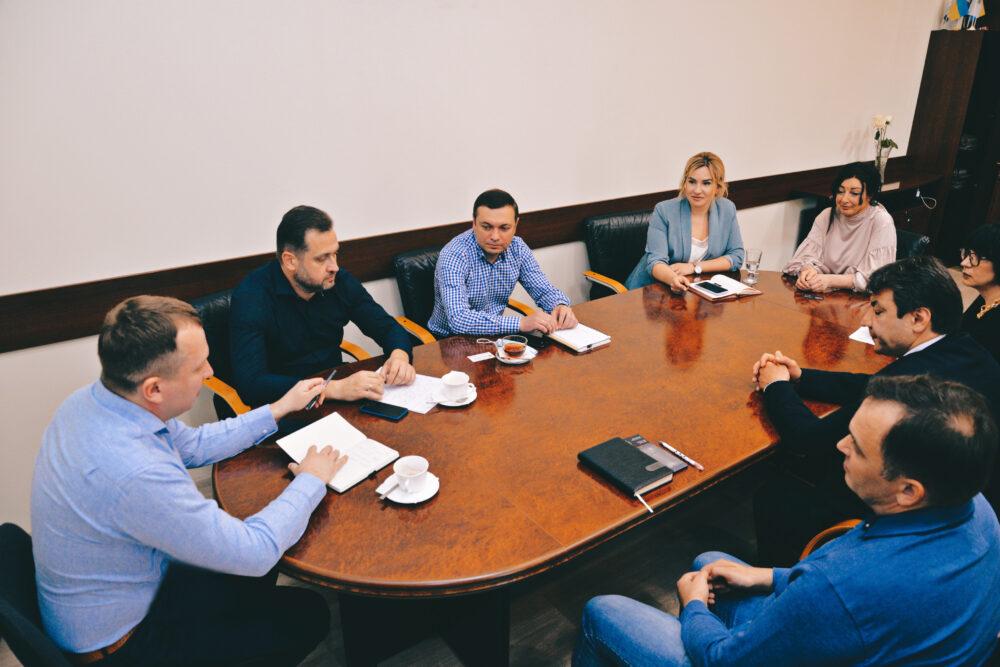 Представники Університету ДФС України провели робочу зустріч з Українською асоціацією Фінтех і інноваційних компаній та Українським фондом стартапів