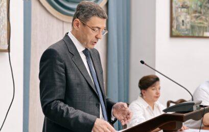 Директор ННІ гуманітарних наук Євген Суліма успішно прозвітував про підсумки роботи за 2020-2021 н.р.